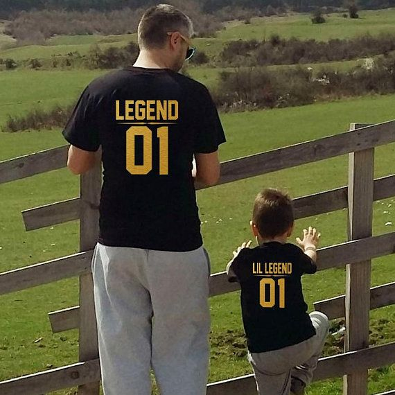 superior quality 2b356 abc06 Dad and Son shirts, Father and son shirts, Legend Lil Legend shirts,  matching father son shirts   Products   Dad, son shirts, Father son  matching shirts, ...