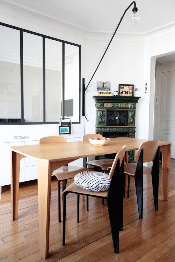 Appartement Parisien Julie Chevillat Coussin Germain / Hëllø Blogzine - www.hello-hello.fr