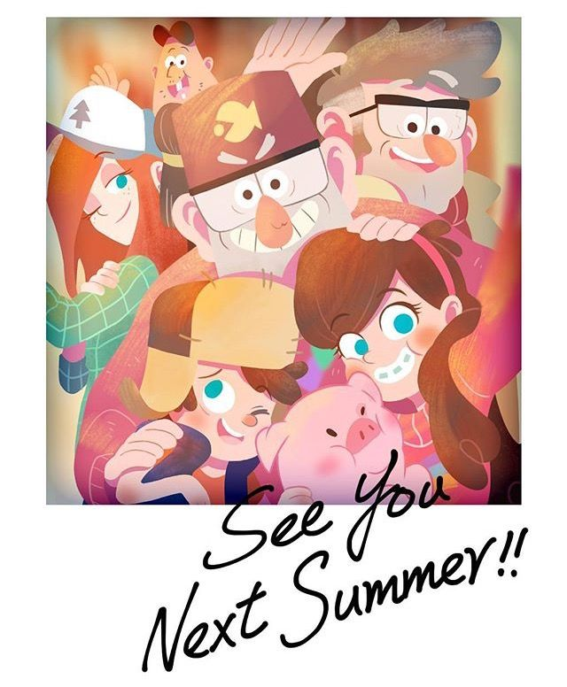 Awww see you next Summer! :,)