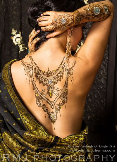 Party & Event henna - henna tattoos and traditional -winnipeg henna  This would be a great tattoo