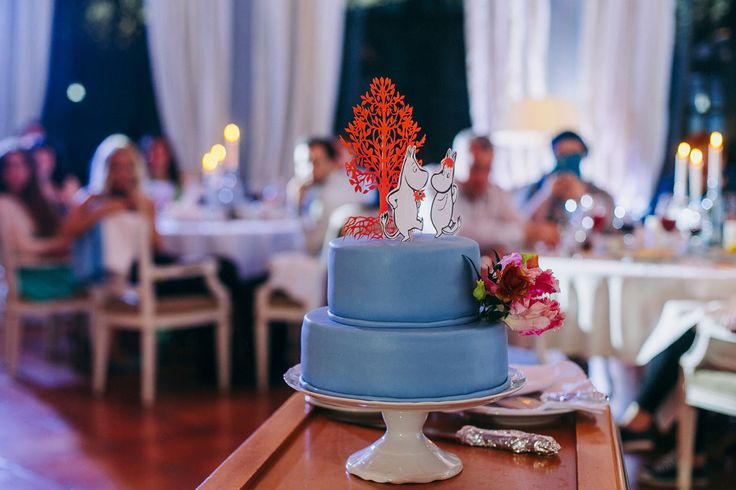 Свадьба в сказочной стране с Мумий Троллем   Статьи о свадьбе   www.wedcake.ru - свадьба в Санкт-Петербурге
