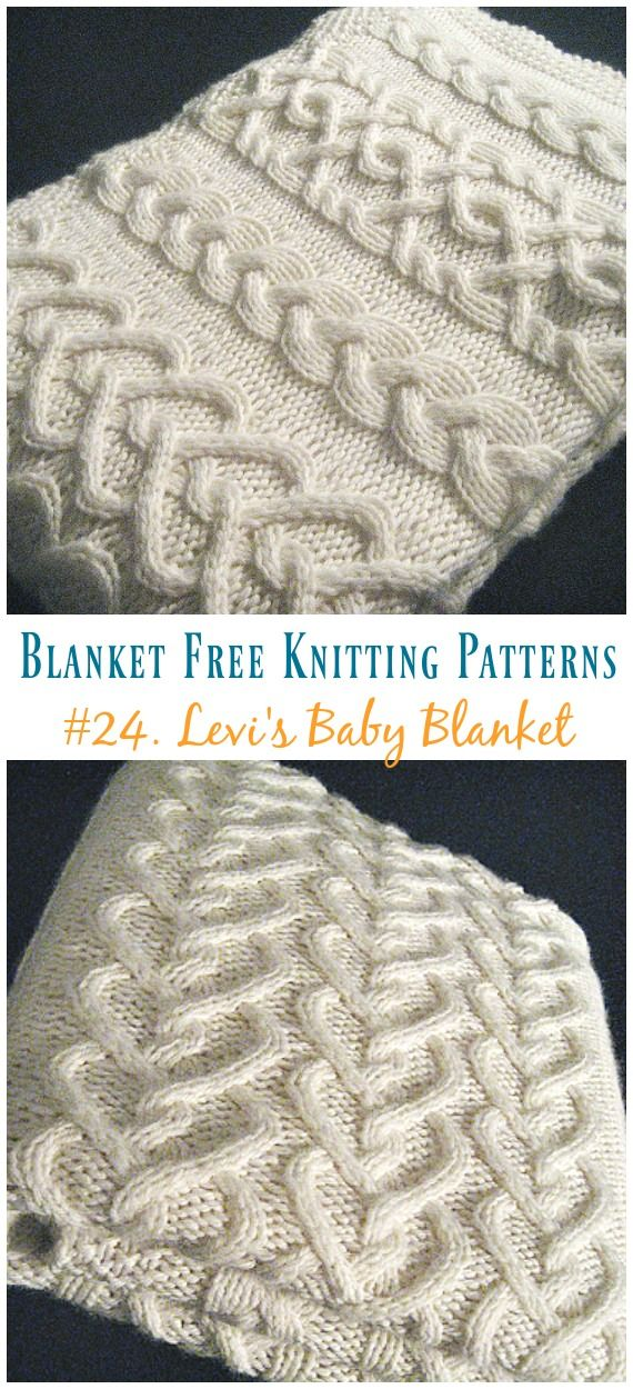 Easy Blanket Free Knitting Patterns To Level Up Your Knitting Skills ...
