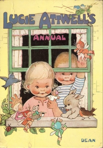 vintage Mabel Lucie Attwell book