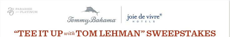 """""""Tee It Up with Tom Lehman"""" Sweepstakes"""