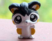 Emolga Pokemon inspired Littlest Pet Shop custom