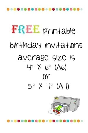 Free Birthday Invitations Birthdays Pinterest Party