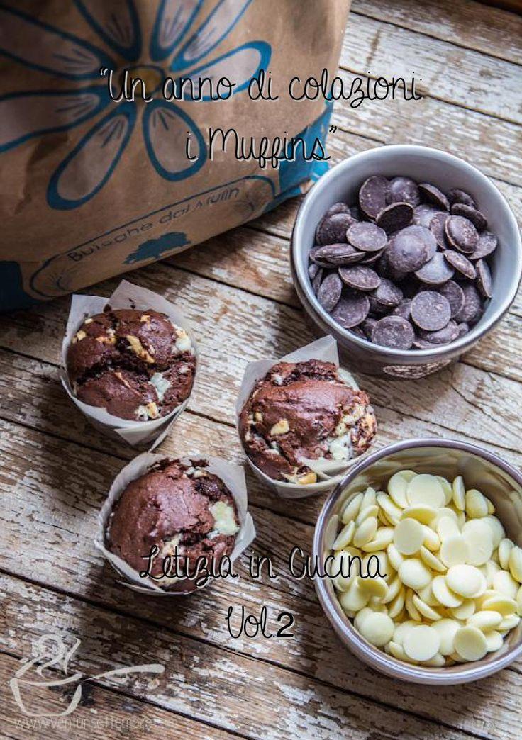 """Raccolta di ricette di Muffins dal contest """"Un anno di colazioni: i Muffins"""" del Blog Letizia in Cucina http://vogliadicucina.blogspot.it/"""