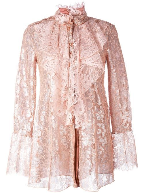 Викторианские блузки 2017: готический шик и винтажная романтика