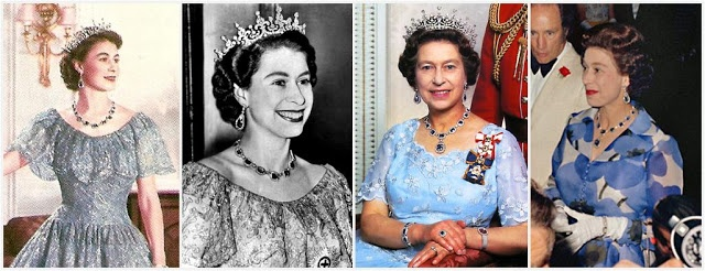 From Her Majesty's Jewel Vault: The George VI and Modern Sapphire Set