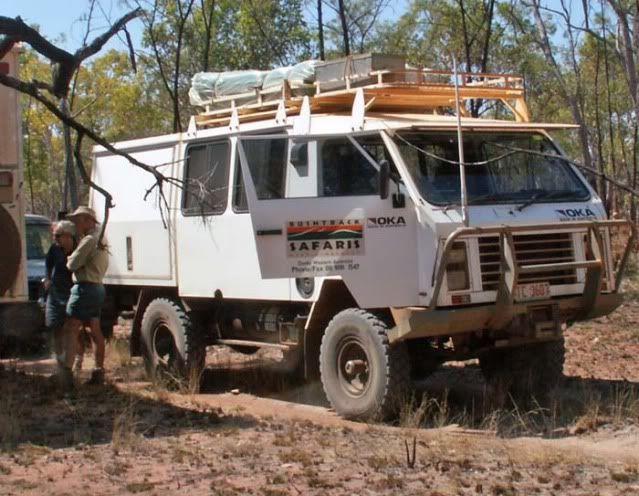 OKA OFFROAD Vehicle 4wd Australia safari | Offroad ...