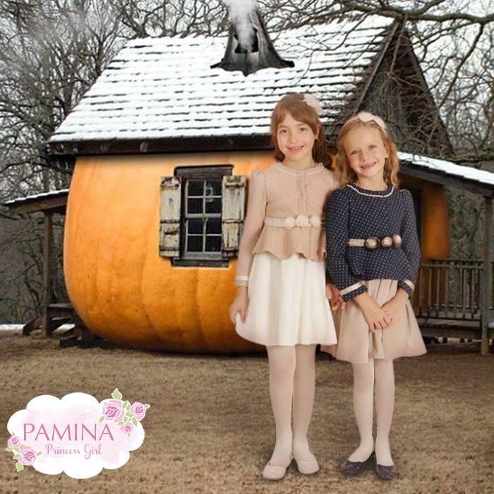 Küçük hanımların kış şıklığı göz kamaştırıyor...  Little ladies winter style is shining...  #Kids #KidsFashion #Moda #Chic #Shine #Winter
