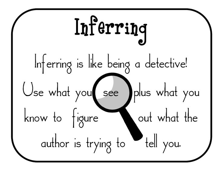 17 Best images about inferences on Pinterest | Anchor charts ...
