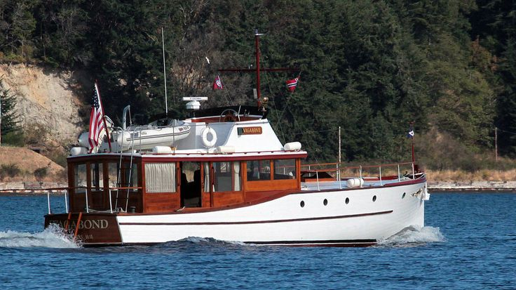 IMG_1767CE1 - Port Townsend Bay WA - off Indian Island - aboard MV BLUE STAR - Classic 1929 MV VAGABOND - southbound for Oak Bay