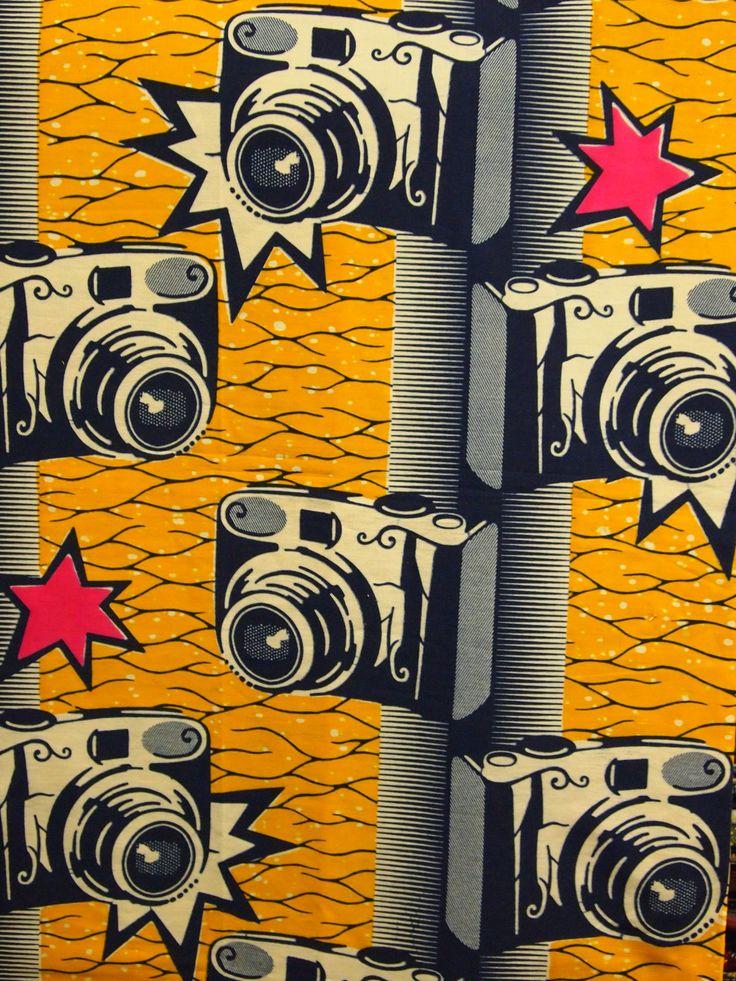 Paparazzi. Camera. #Print #AfricanPrints #Textile #Fashion #Design #AfricanFashion @ethicalfashion1