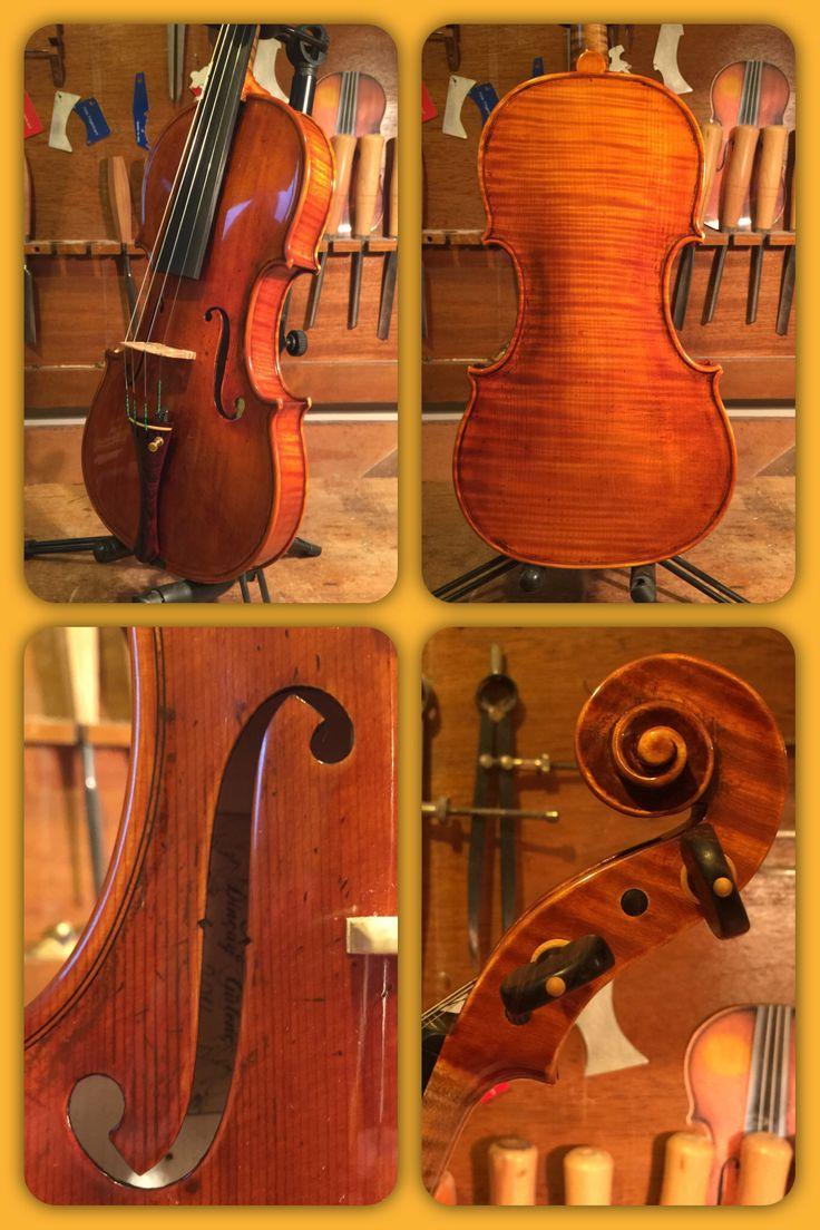 Violin G.Guarneri Del Gesù 1734 Lo stauffer