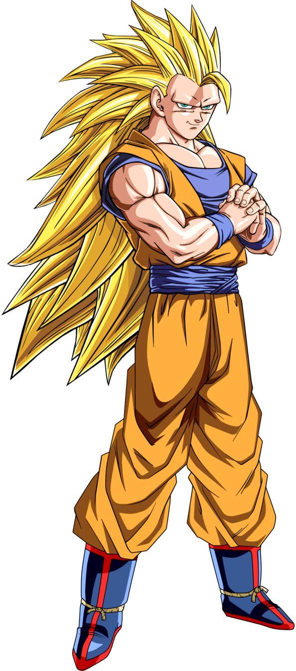 Super Saiyajin - Dragon Ball Wiki, Goku SSJ3.jnpg.png