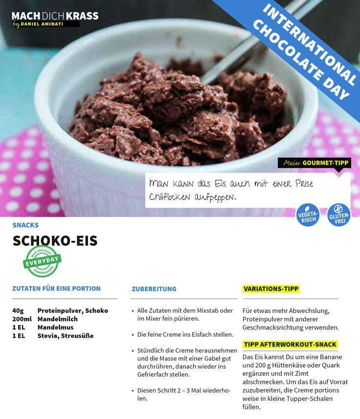 Schoko-Eis! Perfekt für die heiße Jahreszeit!