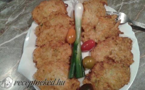 Zöldséges tócsni recept fotóval