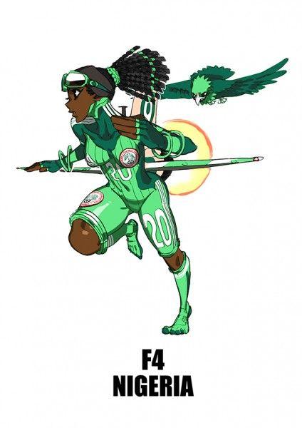 Nigeria, el águila verde