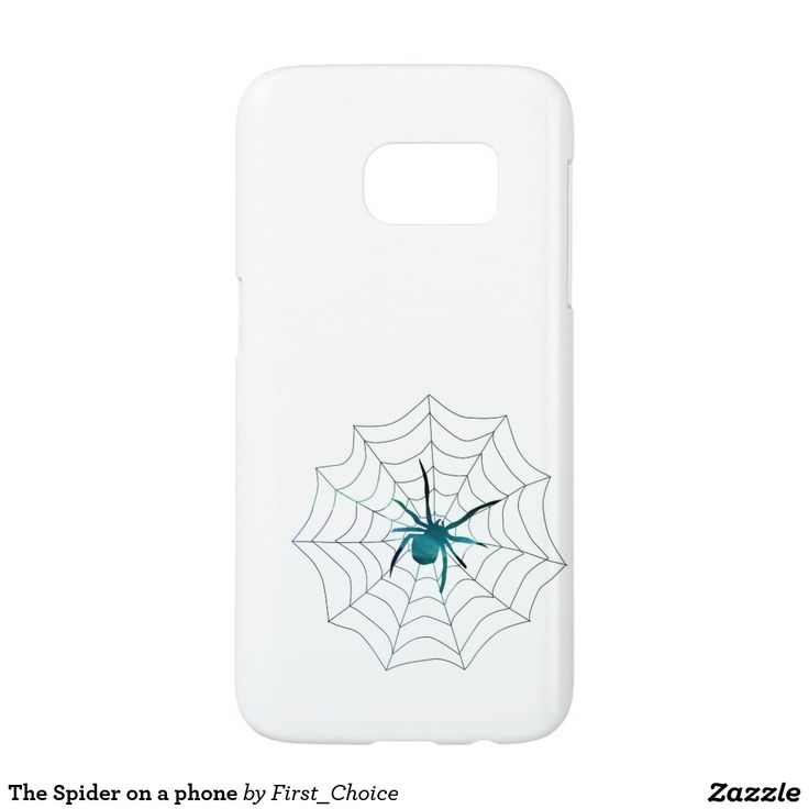The Spider on a phone Samsung Galaxy S7 Case