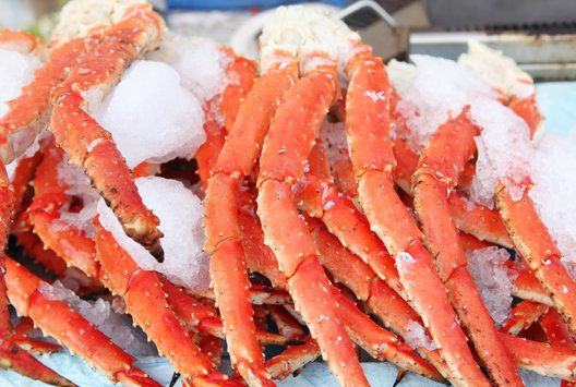 alaskan red king crab legs