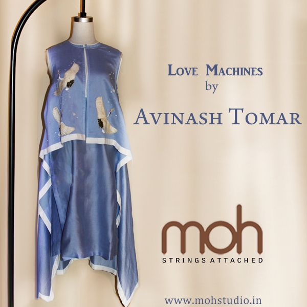 Beautiful Lovemachines Collection by Avinash Tomar, now available at Moh!  #fashion #dresses #mohstringsattached