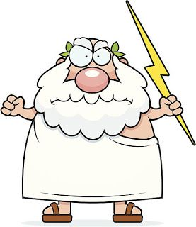 Image result for zeus cartoon (With images) | God ...