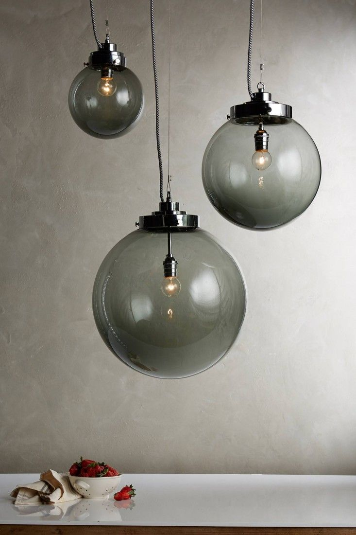 10 Easy Pieces: Colorful Glass Pendant Lights