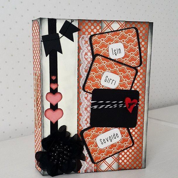 valentines day notebook.  sevgililer günü özel defteri. www.emeksensin.com da satışta!