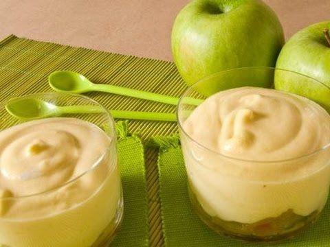 Молочно-яблочный десерт! Нежный,легкий и очень вкусный десерт для всех! - YouTube