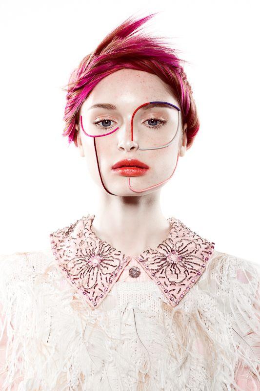 Cece / Culture by Yulia Gorbachenko, via Behance / hair by Alexander Tome / makeup by Valentina Gretsova