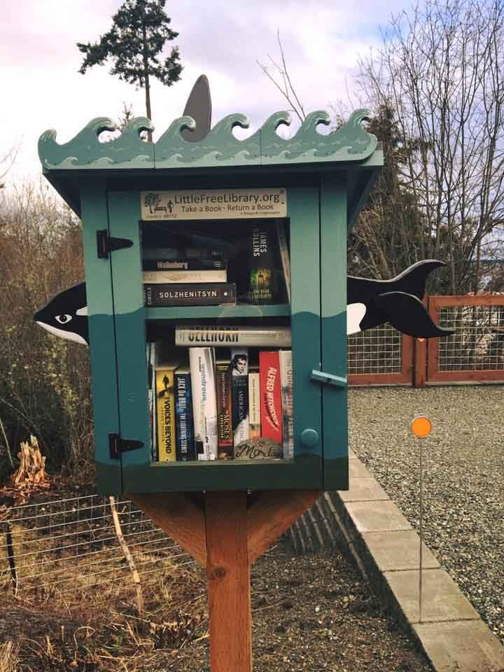 Little Free Library #46112 Coupeville, Washington