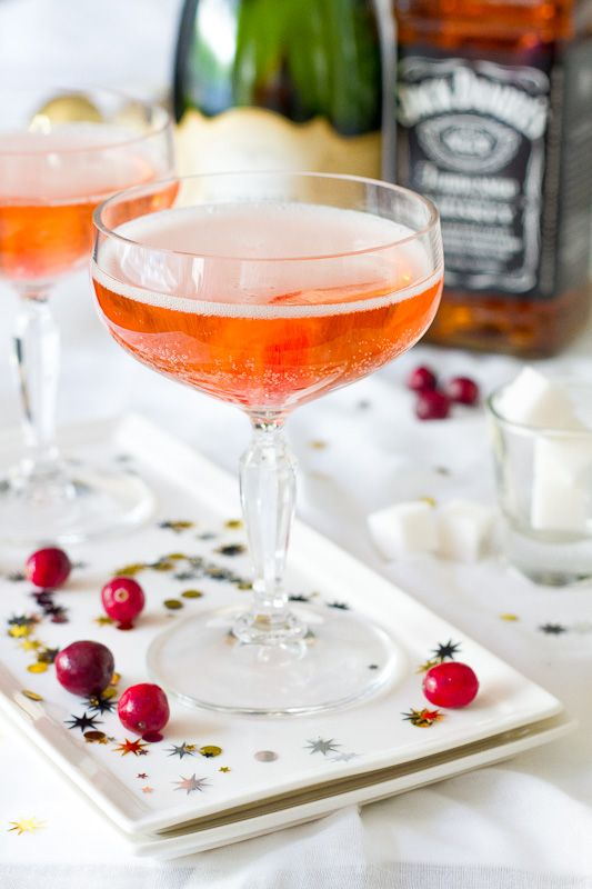 Whiskey Champagne Cocktail