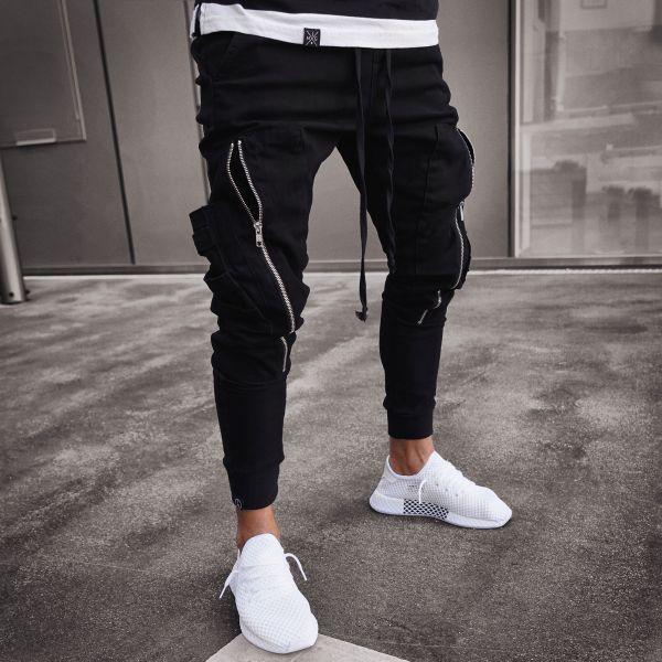 ca18690e42549a Mjg zip pants    black in 2019