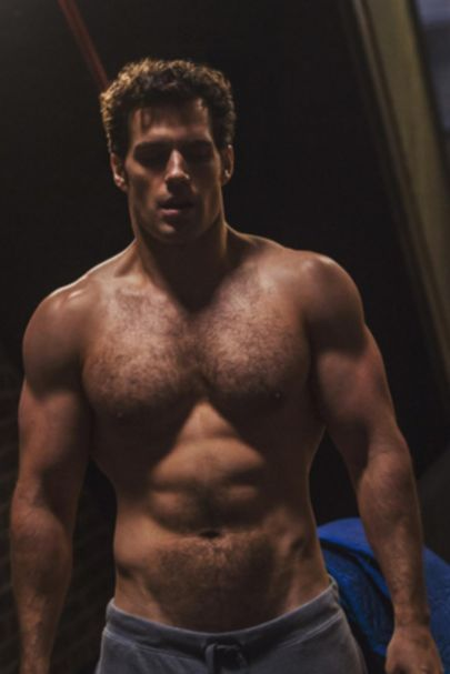 Henry Cavill Instagram Shirtless Picture Of His Superman Body | Glamour UK