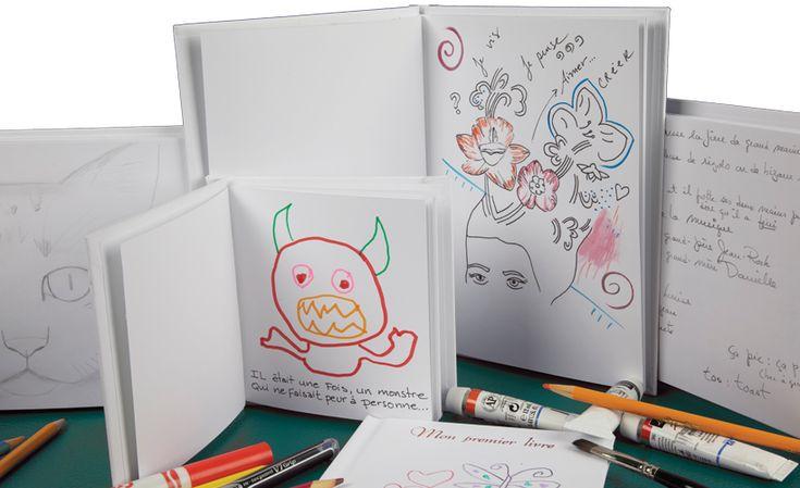 Matérialiser les écrits de vos élèves avec les livrse blancs - Reliures des Appalaches