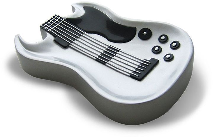 Rock Star Guitar Soap Dish: