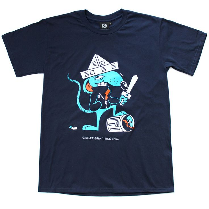 RAT IN NAVY http://shop.greatgraphicsinc.com/product/rat-in-navy