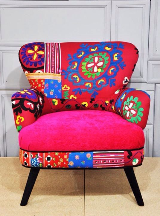 324 best Patchwork Furniture images on Pinterest | Armchairs ...