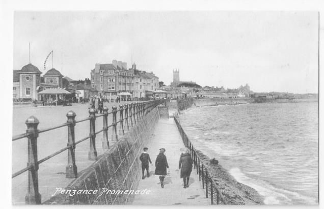 'PENZANCE - The town-council have, we are informed, purchased the Newlyn Green, extending from near Lariggan Bridge to near the Battery rocks, for a term of a thousand years, at a nominal rent, it being intended to be preserved as a promenade for invalids and others, to enjoy the sea air and prospect, for which purpose, indeed, it has been much resorted to. It is nearly three thousand feet in length, and commands a delightful view of the Mount's Bay.' (The West Briton | 29 November 1839)…