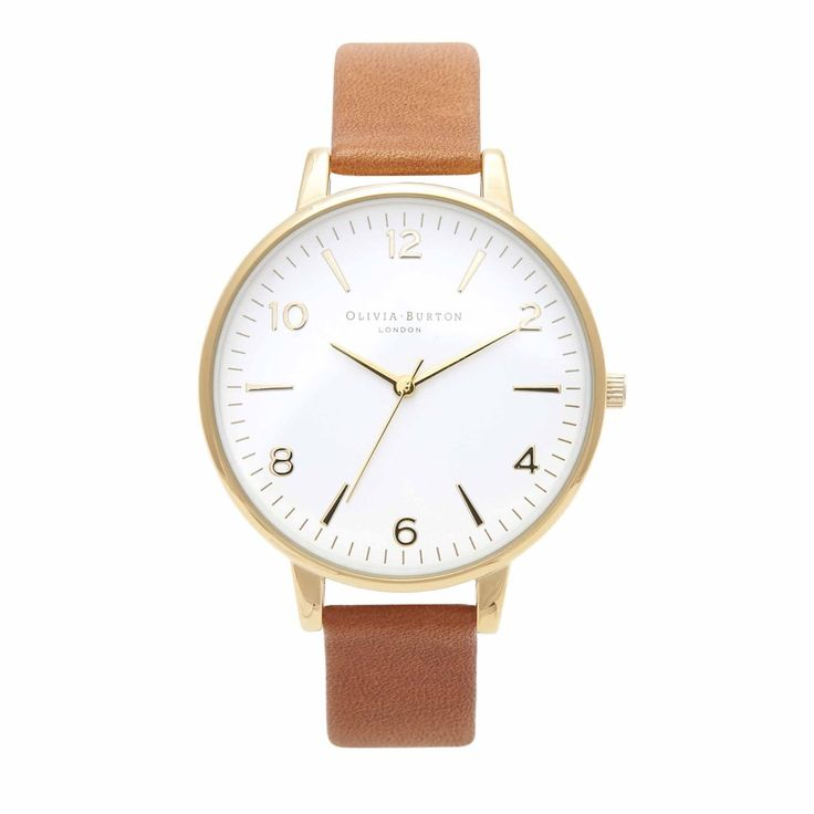 Large White Face Tan – Vintage inspired fashion watches by Olivia Burton