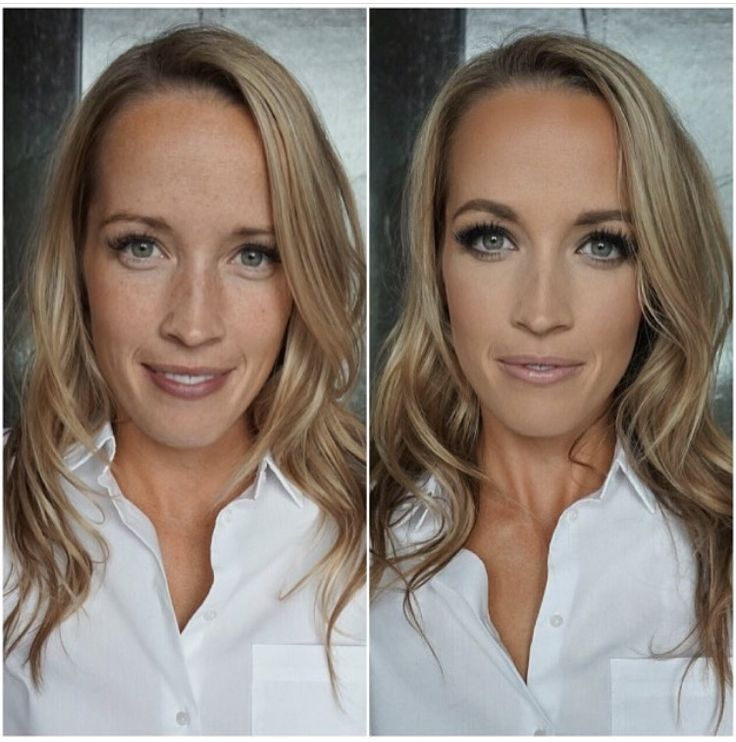 BRIDAL before and after makeup
