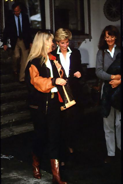 Another rare picture of Princess Diana