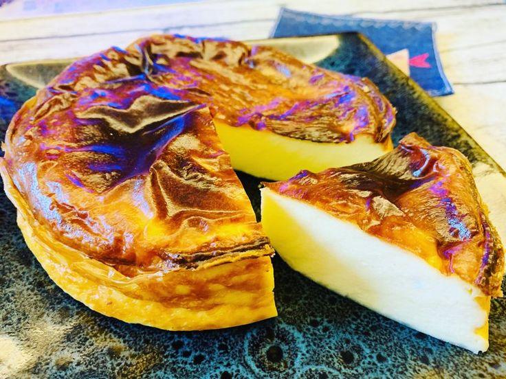 (米菈的食譜)氣炸 巴斯克蛋糕 by mila | Recipe | Recipes, Food, Baking