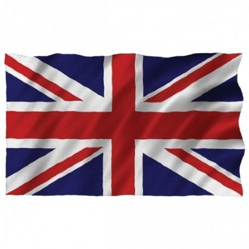 Large Union Flag 1.5m X 90cm (5 X 3ft) Great Britain Uk English Union Jack Flag. Ideal for Pub, Bar, British Theme, Patriotic, Party, Soccer Etc by HDIUK. $6.90. Genuine from the United Kingdom. ideal for use on the front of a building, on a flag pole etc. Large 5 ft x 3 ft foot wide Union Flag. Large Union Jack flag 5ft x 3ft.