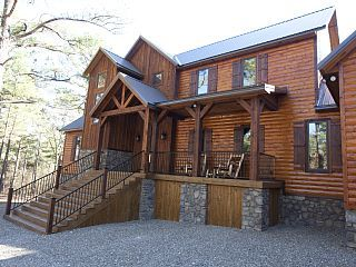 """Brand+new!+Spacious!+""""Call+It+A+Day""""+Luxury+Cabin+in+Broken+Bow;+Beavers+Bend+++Vacation Rental in Oklahoma from @homeaway! #vacation #rental #travel #homeaway"""