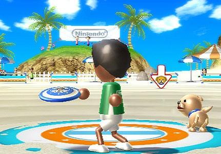 Wii Sports Resort Frisbee