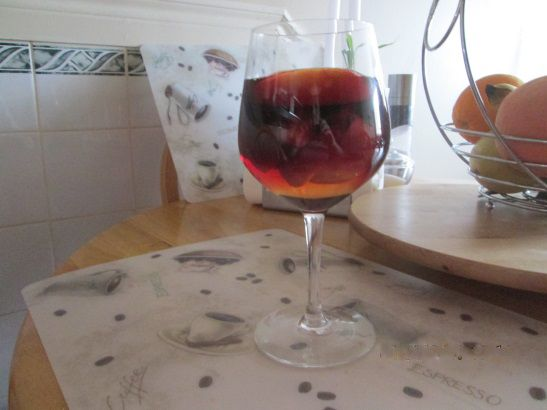 Red Wine with Fruit