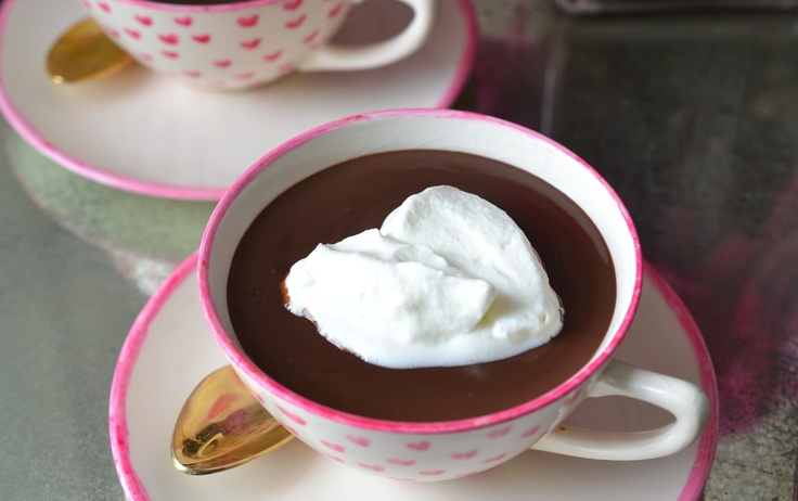 Heart of Gold and Luxury: Rich Hot Chocolate