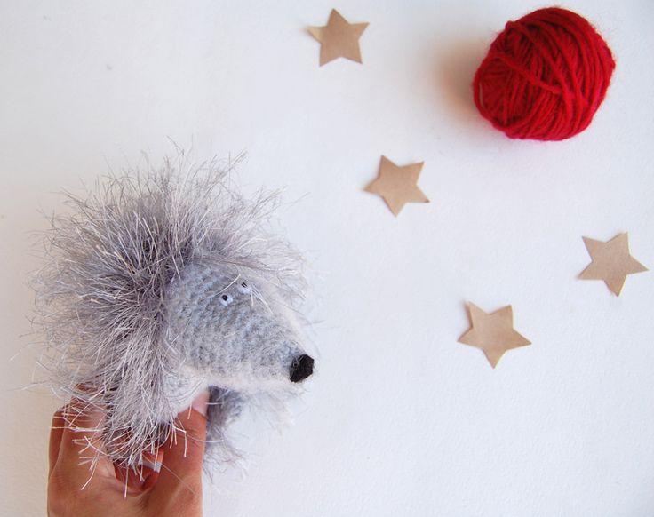 Hedgehog Crochet Toy amigurumi stuffed toy  from RomeoToys by DaWanda.com
